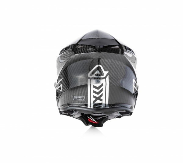 Acerbis STEEL CARBON - SILVER/BLACK