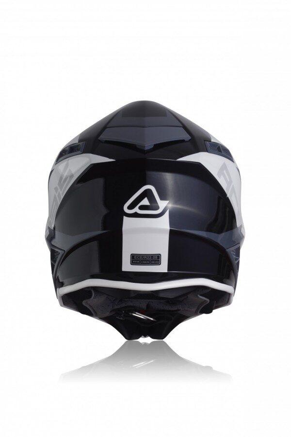 Acerbis X-TRACK HELMET - WHITE/BLACK