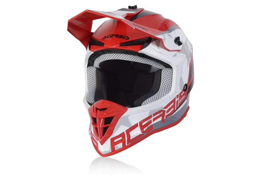 Acerbis LINEAR HELMETS - RED/WHITE