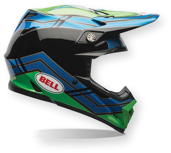 Bell Moto-9 Airtrix Stance Helmet