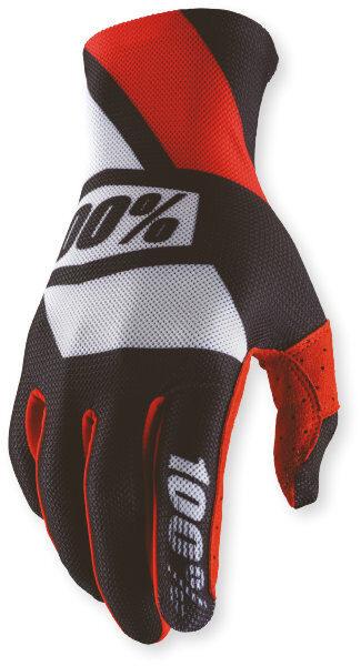 100% Celium Glove Red/Black