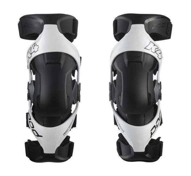 Pod K4 2.0 Knee Brace White - Pair
