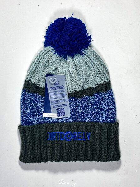 Dirtcore beanie blue